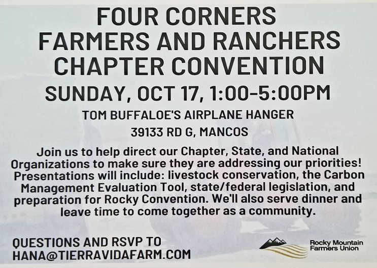 Chapter conv card